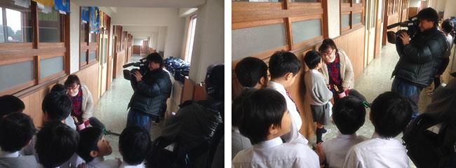 12月27日、1月4日に精道三川台小学校がテレビ番組で取り上げられます