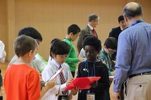2014年11月25日 (火) アメリカンスクール児童との交流会