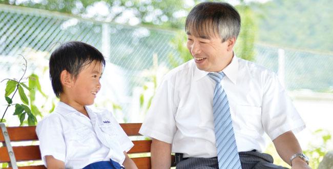 家庭と連携し児童の個性を引き出す「個人指導」