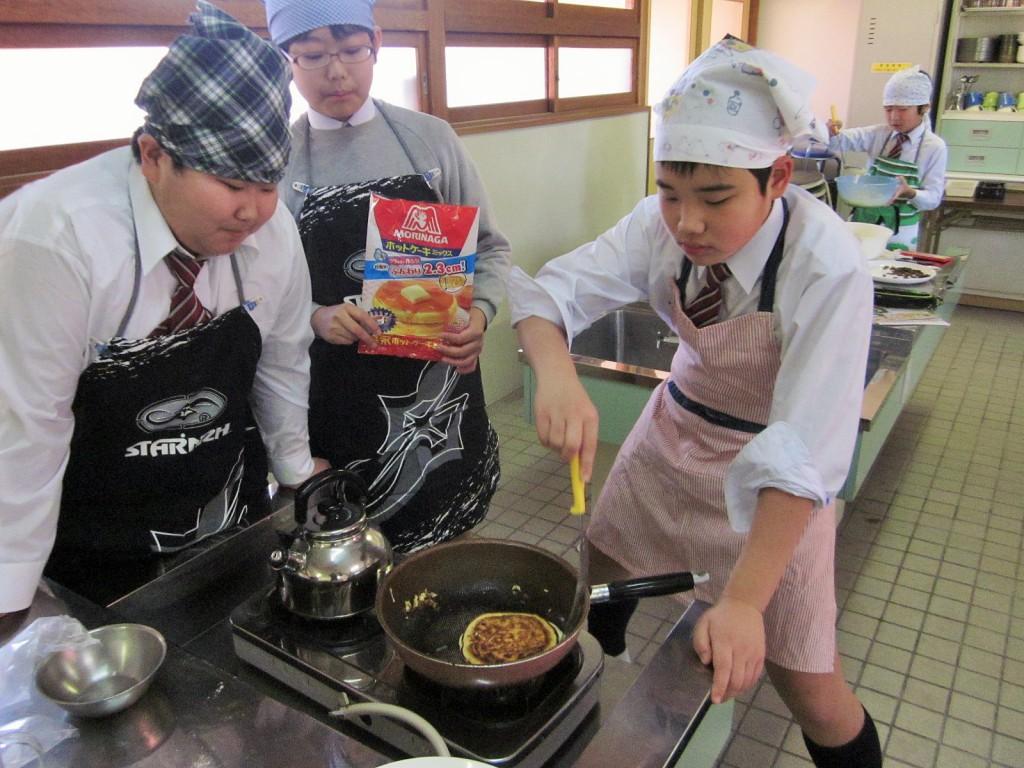 2月3日(火)家庭科調理実習