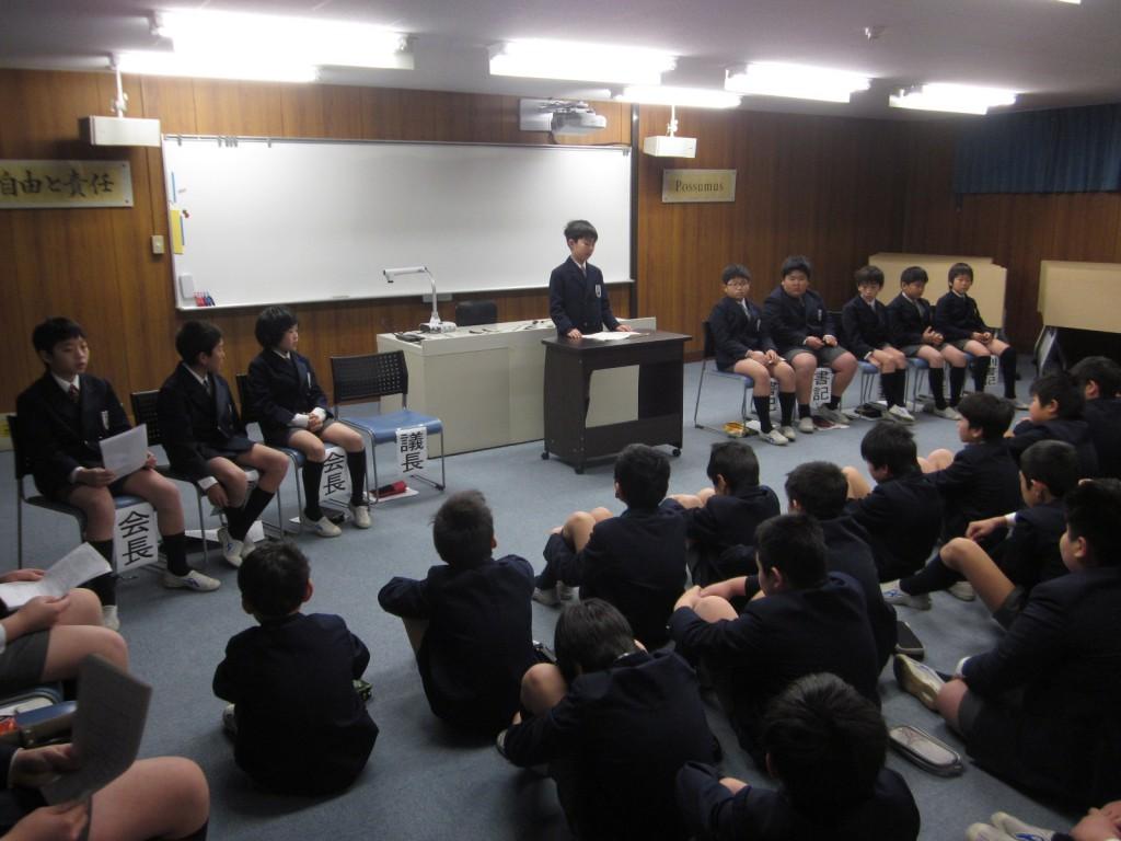 2月20日(金)児童会選挙