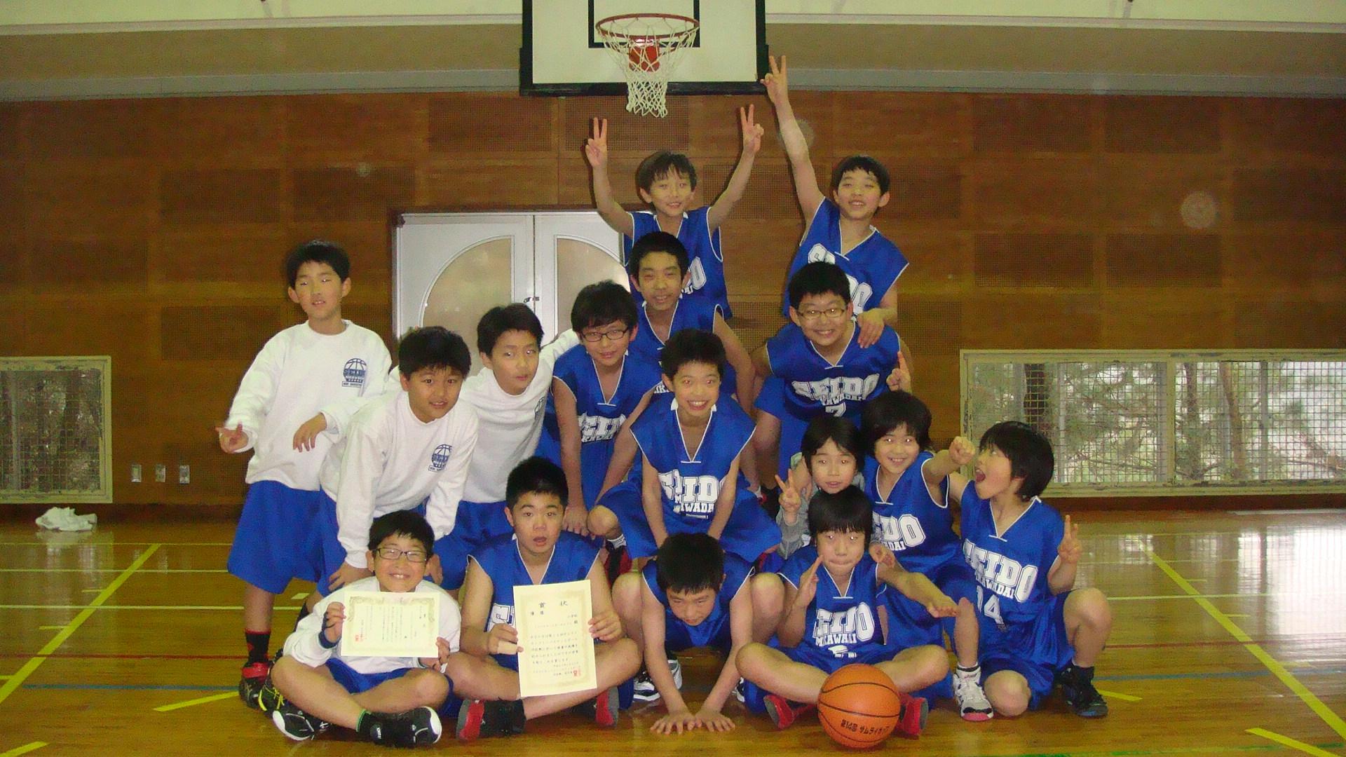 2月22日(日)第14回サムライカップ ミニバスケットボール大会 初優勝!