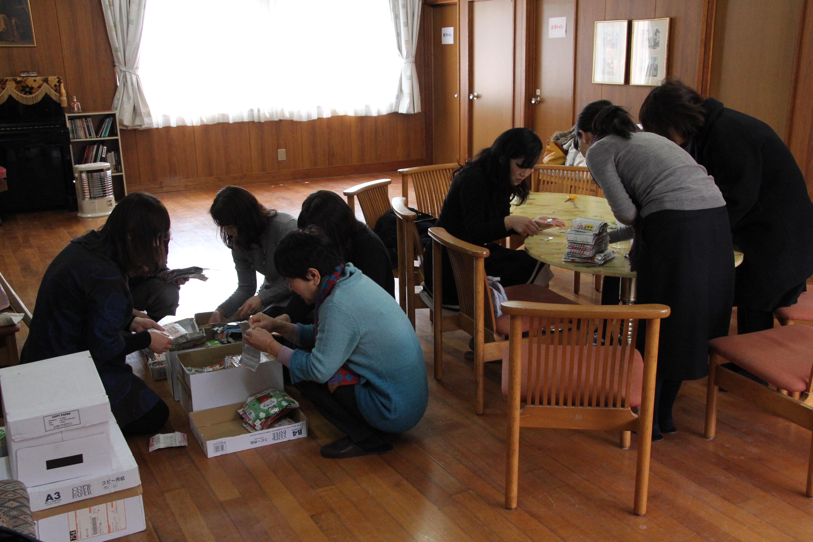 3月20日(金)給食室へのお礼の手紙