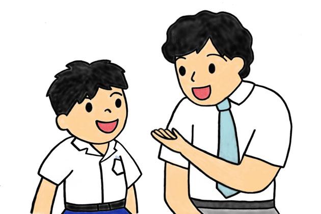 思春期の男女は、同姓の教師による指導を受け入れやすい