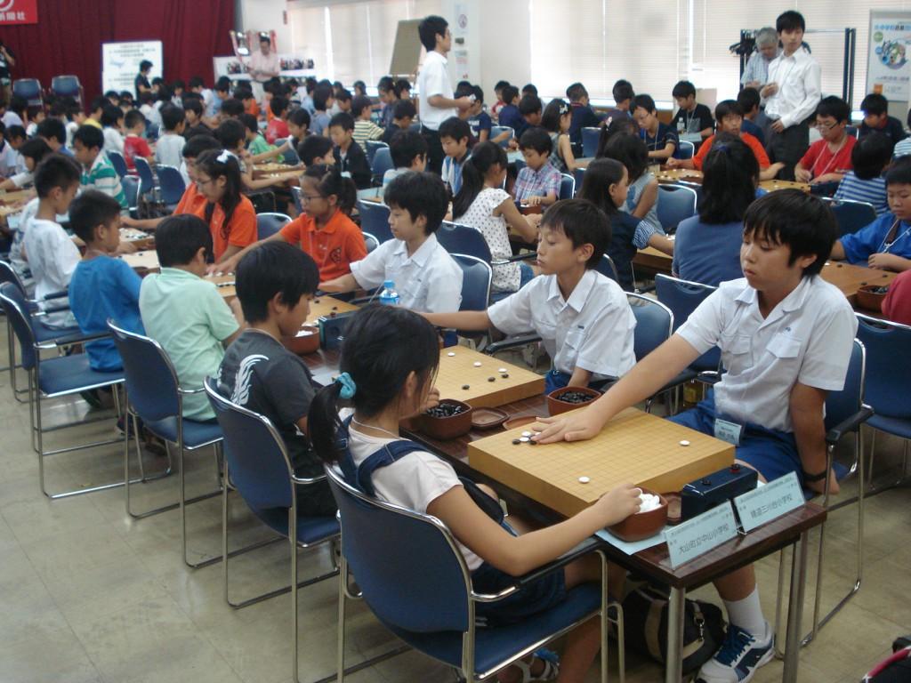 第12回 文部科学大臣杯 小学校 囲碁団体戦 全国大会出場!