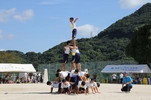 5中学組体操