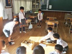的入れ遊び(1年生)