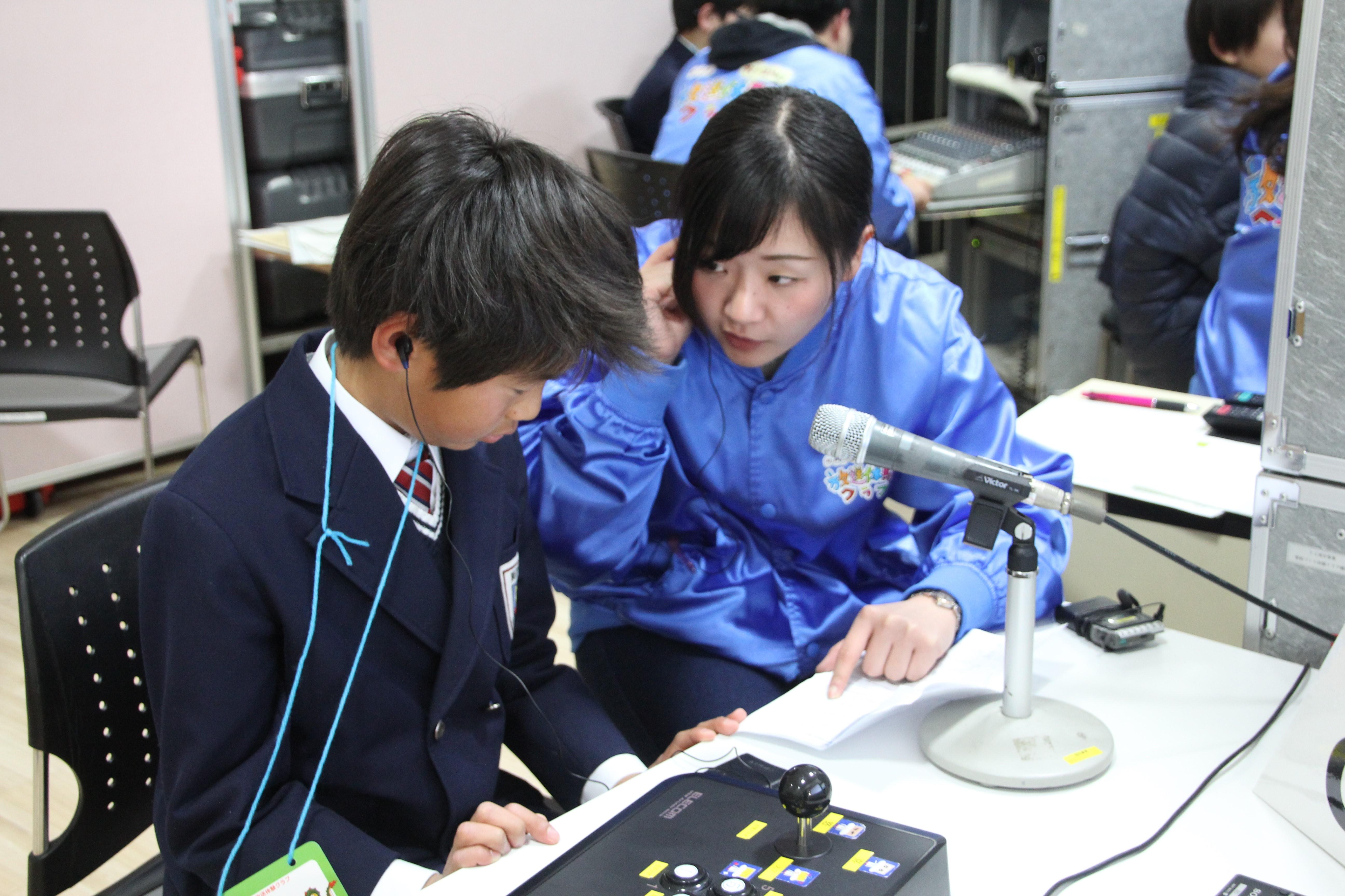 NHK放送局見学