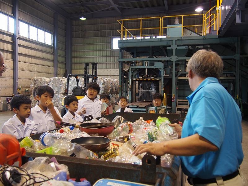 清掃工場見学(4年生)