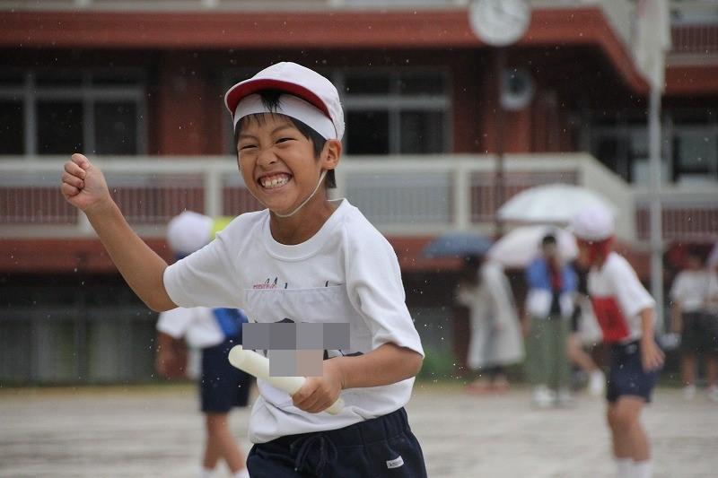 小・中・高合同体育祭、今日開催します!