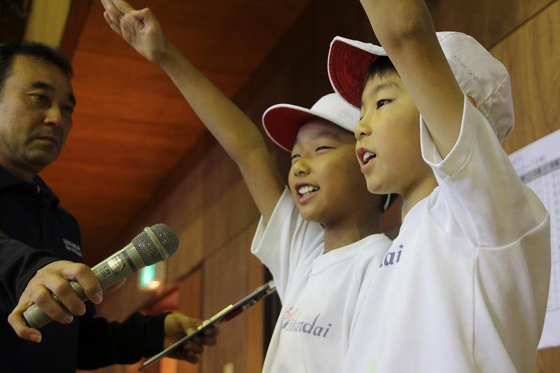親子スポーツ大会、楽しかったー!