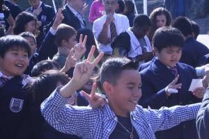 英語暗唱大会に4年生が出場しました!