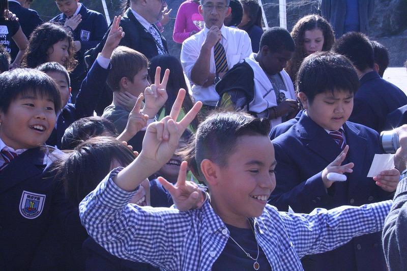 ダービー校より5年生が来校し、本校児童と英語で交流を深めました!
