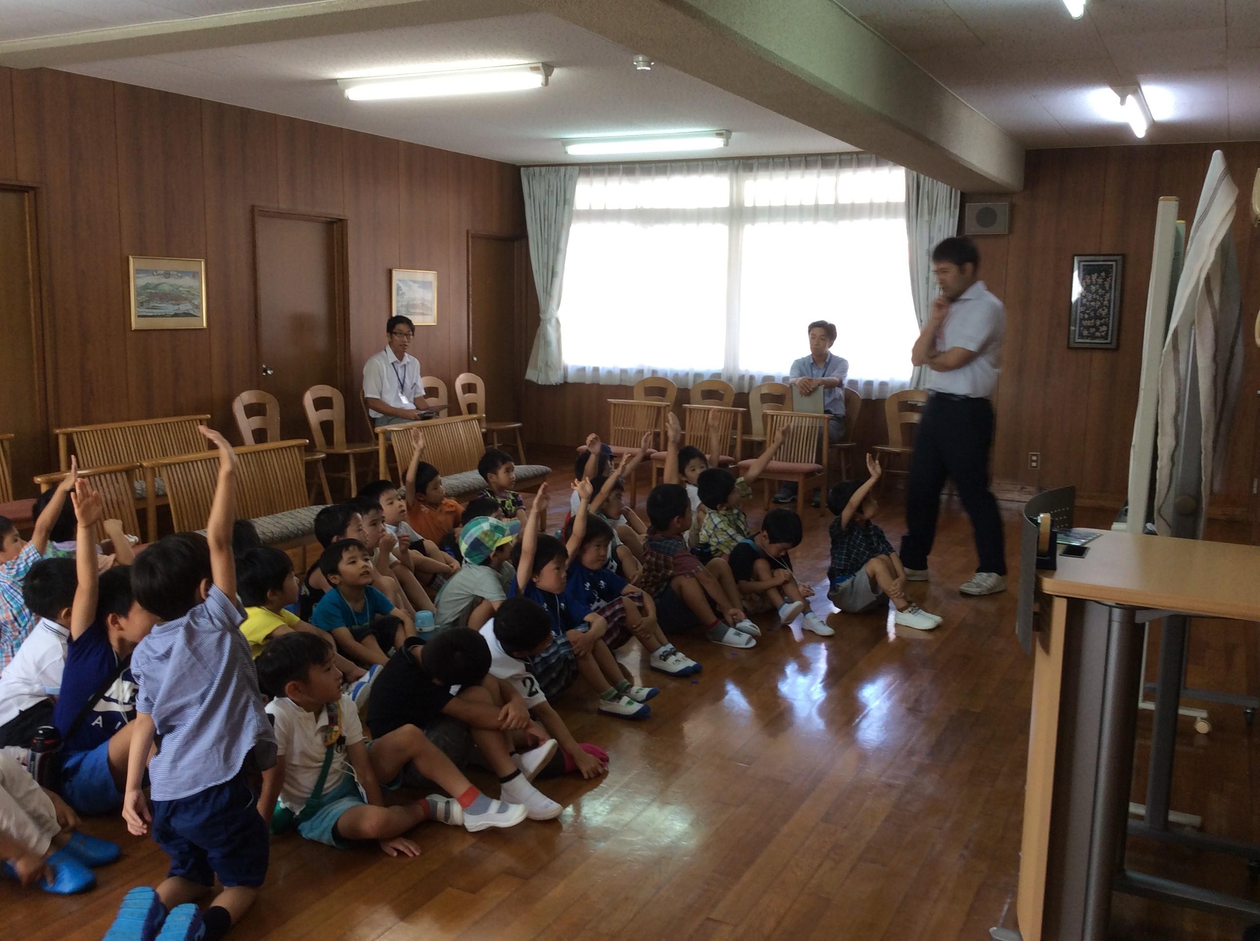 オープンスクール(園児学校体験)