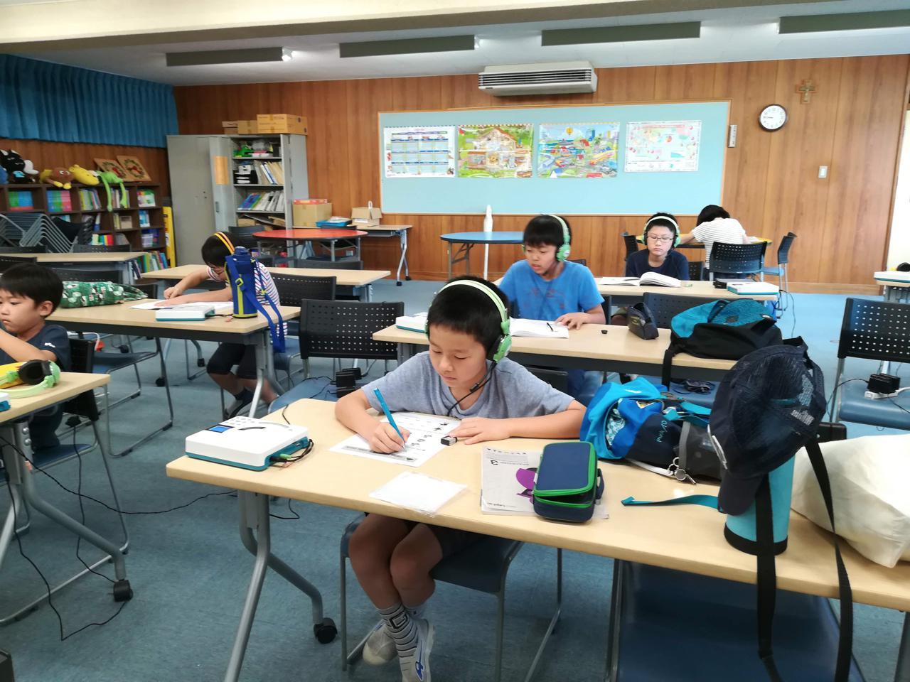 夏休み中のレプトン教室