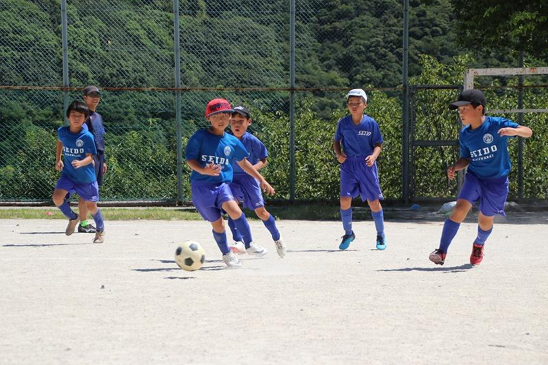 サッカー部 夏休み練習