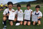 「小体会」400mリレー、走り幅跳び、優勝