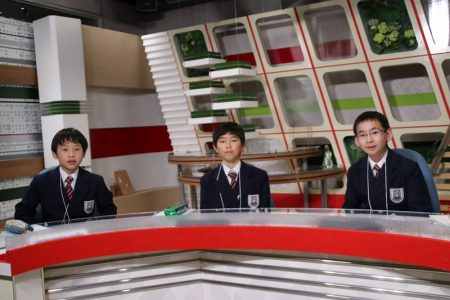 5年 社会科見学 NCC長崎文化放送局