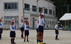4月25日(木) 小中高合同 体育祭 予行