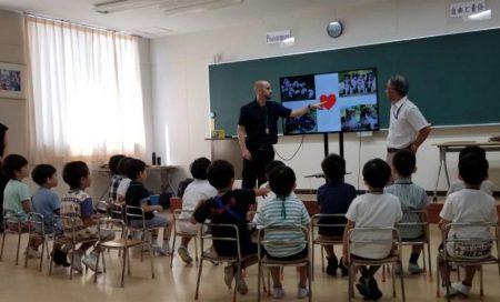 オープン スクール(園児授業体験)がありました