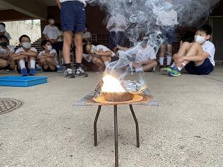 6年 理科実験 part IV「Mg(マグネシウム)の燃焼」燃やしたらどうなる?