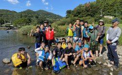 8月5日 文教クラブ「川遊び」