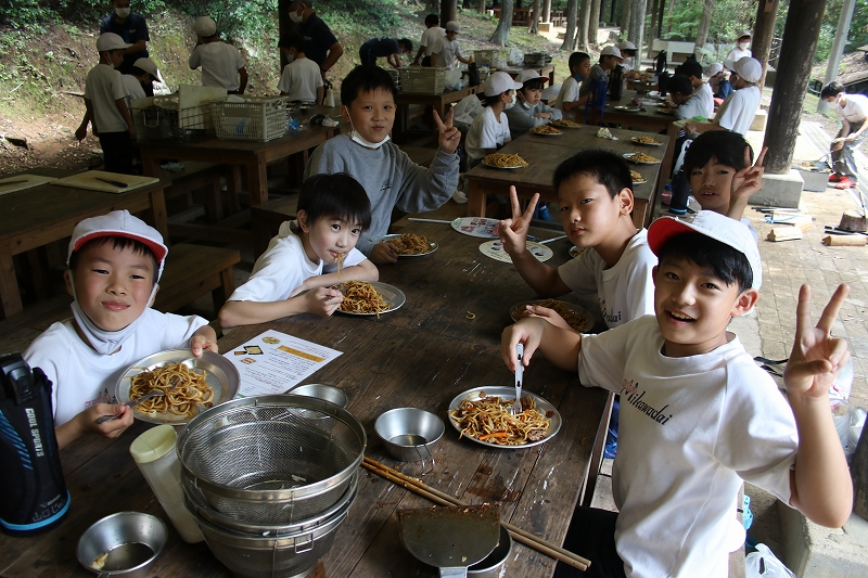 「自立・規律・協力・責任」の4・5年野外教室